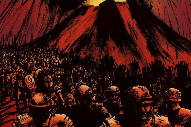 « Extinctions » de Jean-Marc Rochette, une BD de science fiction qui explore un scénario d'effondrement climatique.