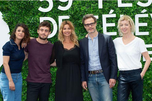 """Le casting de """"Demain nous appartient"""" à Monaco."""