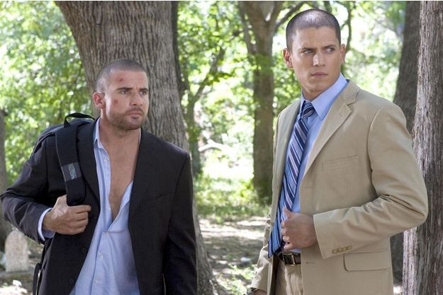 Dominic Purcell et Wentworth Miller.