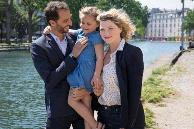 """Arié Elmaleh et Cécile Bois dans """"Tu vivras ma fille""""."""