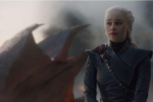 """Daenerys Targaryen (Emilia Clarke) dans l'épisode 5 de la saison 8 de """"Game of Thrones""""."""