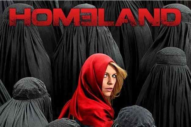 """L'affiche de la saison 4 de """"Homeland""""."""