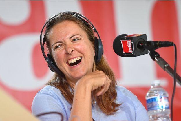 Charline Vanhoenacker à Fête de l'Humanité 2018, à la Courneuve.