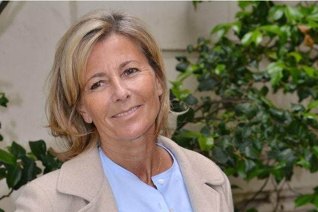 Claire Chazal, à Paris, en juin dernier.