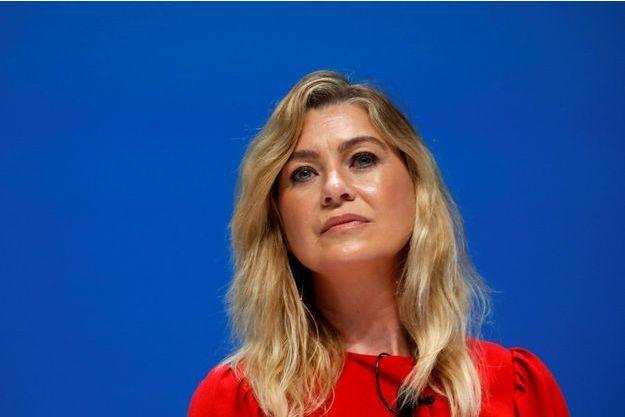 Ellen Pompeo en 2018, à Cannes.