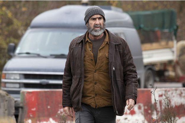 """Eric Cantona dans """"Le Voyageur""""."""