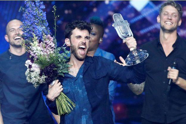 Duncan Laurence, gagnant de l'Eurovision 2019.