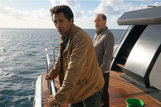 "Travis (Cliff Curtis) et Daniel (Rubén Blades) de ""Fear The Walking Dead""."