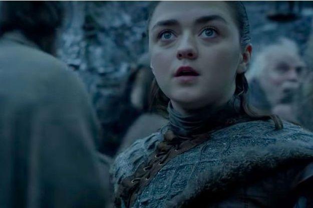 "Arya Stark dans la saison 8 de ""Game of Thrones""."