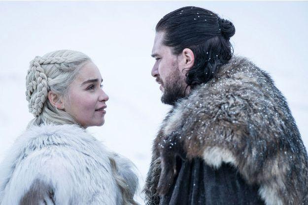 Daenerys Targaryen et Jon Snow