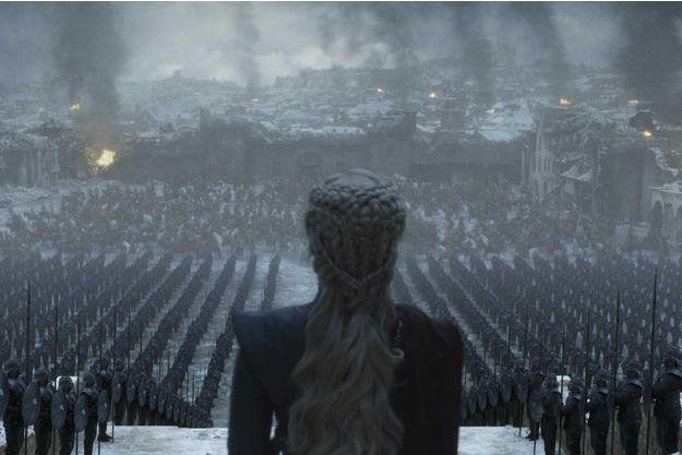 """Daenerys Targaryen dans l'épisode 6 de la saison 8 de """"Game of Thrones""""."""
