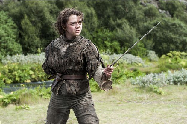 Arya Stark (Maisie Williams).