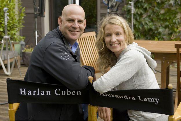 Harlan Coben et Alexandra Lamy.