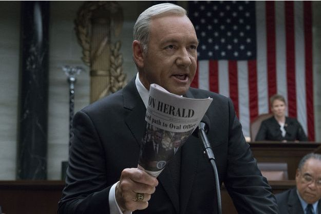 """Kevin Spacey dans la saison 5 de """"House of Cards""""."""