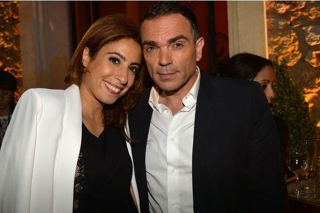 Yann Moix et Léa Salamé en mai 2016.