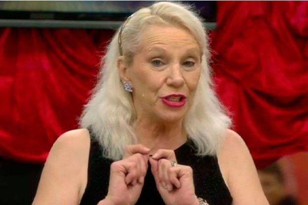"""Angie Bowie dans la version célébrités de """"Big Brother"""" en janvier dernier."""