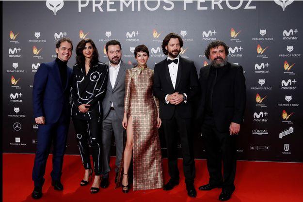 """Les acteurs de """"Casa de Papel""""."""