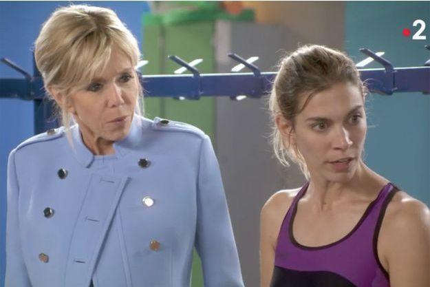 Brigitte Macron a joué dans un épisode de la série «Vestiaires».