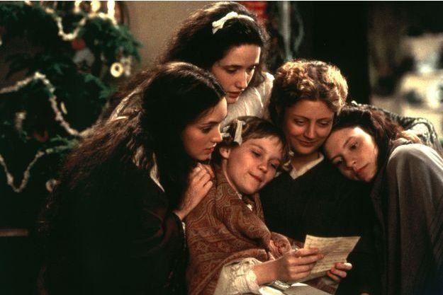 """Le film """"Les Quatre filles du docteur March"""" avec Winona Ryder, Susan Sarandon, Kirsten Dunst, Claire Danes et Trini Alvarado."""
