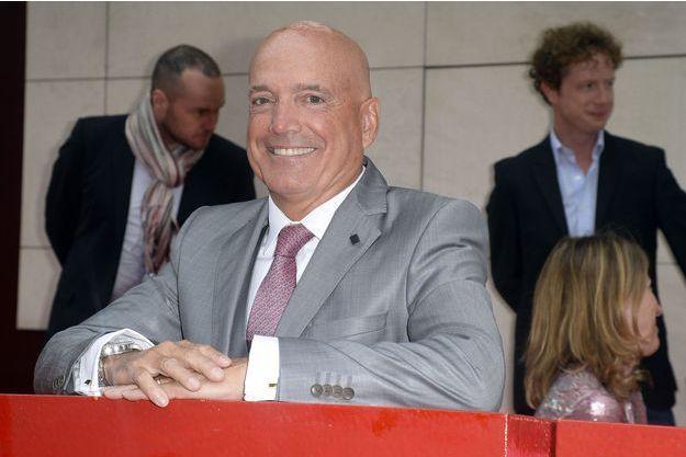 Louis Bodin en septembre 2014 à la conférence de presse de rentrée de RTL.
