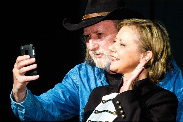 Dorothee et Francois Corbier à l'Olympia en 2010.
