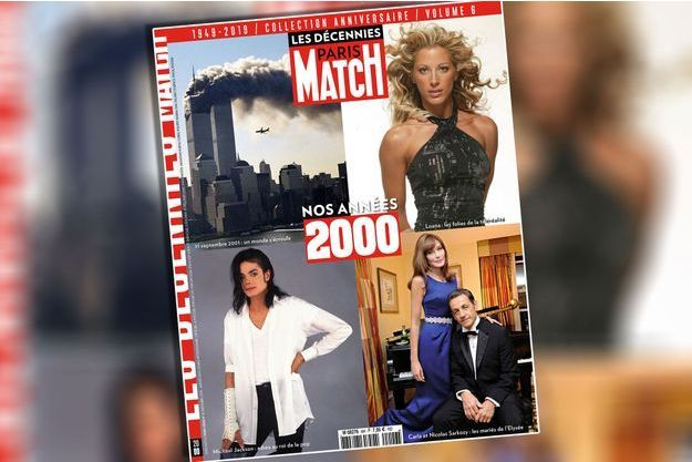 paris match retro 2000