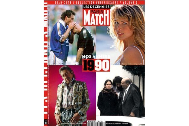 paris match retro 90