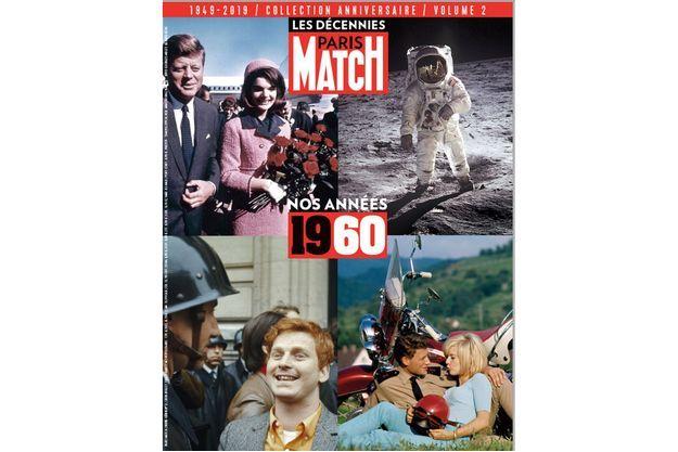 Les décennies Paris Match. Volume 2, « Nos années 1960 », chez votre marchand de journaux, 7,95 euros.