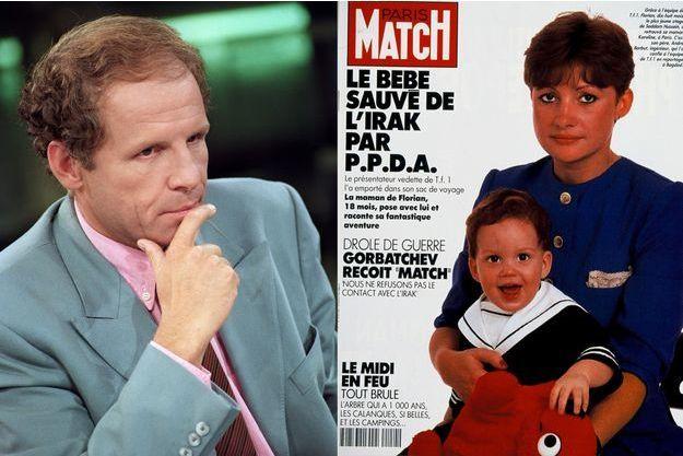 PPDA ici en septembre 1990 et la couverture de Paris Match du 21 septembre de la même année.