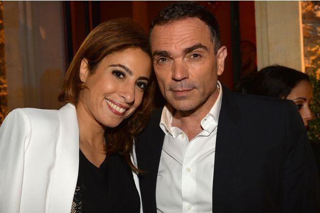 Yann Moix et Léa Salamé en 2016.