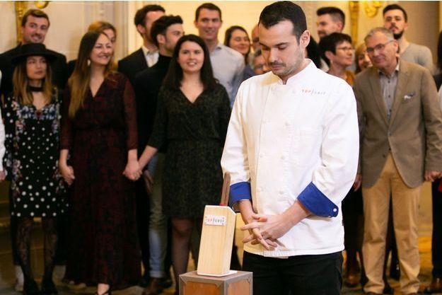 "Samuel Albert, avant sa victoire à ""Top Chef""."