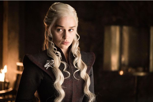 "Emilia Clarke dans ""Game of Thrones""."