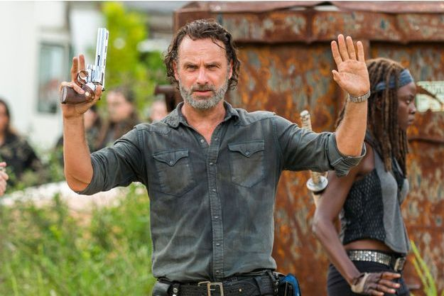 "Andrew Lincoln incarnait Rick Grimes depuis la saison 1 de ""The Walking Dead""."