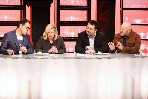 Michel Sarran, Hélène Darroze, Jean-François Piège et Philippe Etchebest.
