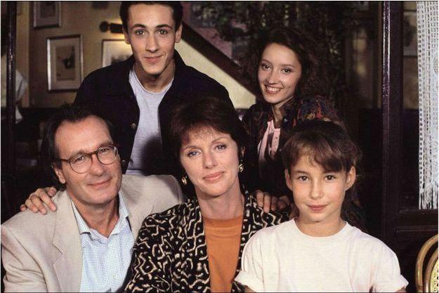 """Les acteur d'""""Une famille formidable""""."""