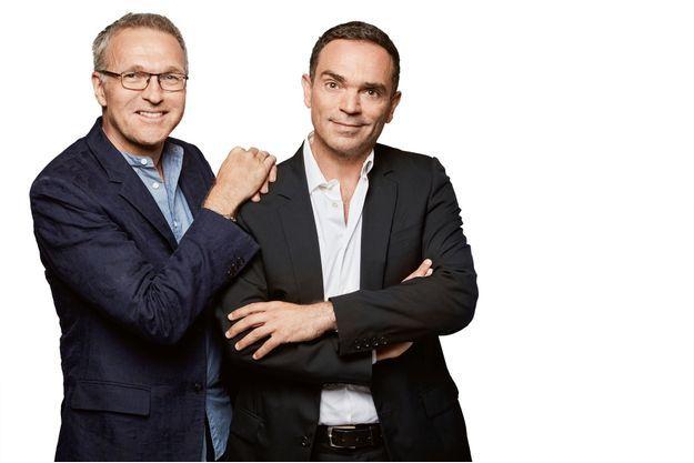 Laurent RUQUIER et Yann MOIX