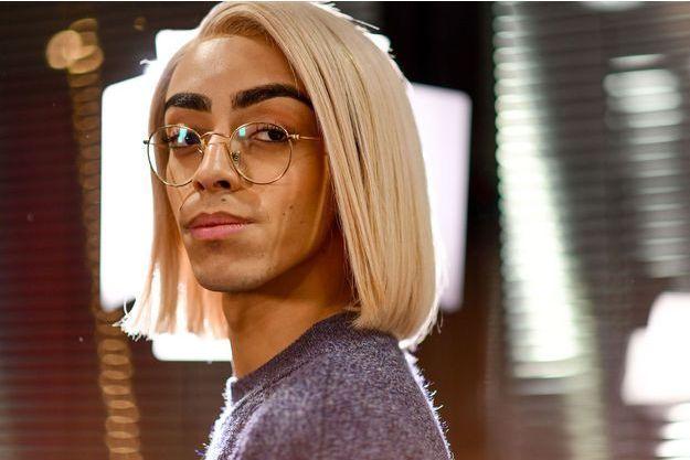 Le représentant de la France à l'Eurovision Bilal Hassani.