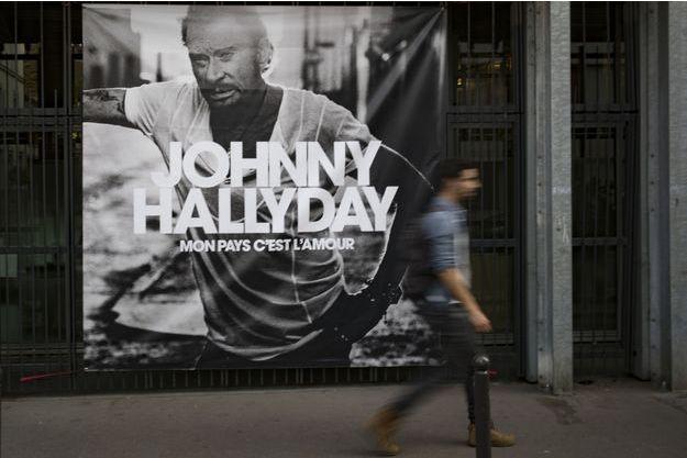 """""""Mon pays, c'est l'amour"""", l'album posthume de Johnny Hallyday, sort le 19 octobre prochain."""