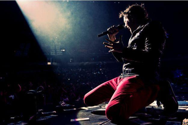 Matthew Bellamy sur scène.