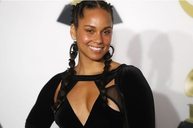 Alicia Keys aux Grammy Awards 2018.