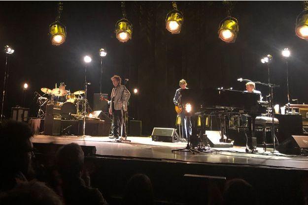 Bob Dylan sur la scène du Grand Rex, le 11 avril.