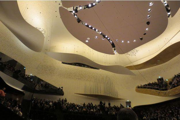Hier soir à Paris: l'ouverture de la Philharmonie de Paris