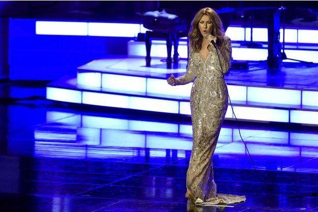 Céline Dion, sur la scène du Colosseum du Caesars Palace, à Las Vegas.