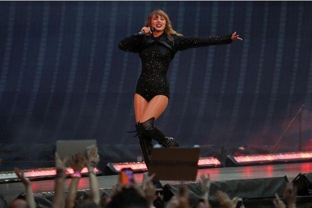 Taylor Swift à Wembley en juin.
