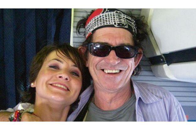 « Avec Keith Richards qui attend sa vodka-Fanta orange. »