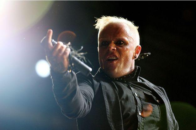Keith Flint, le chanteur de The Prodigy