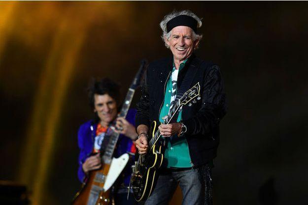 Keith Richards et les Rolling Stones le 22 mai 2018 à Londres.