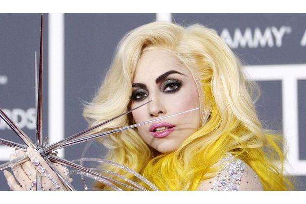 Lady Gaga aux Grammy Awards à Los Angeles.