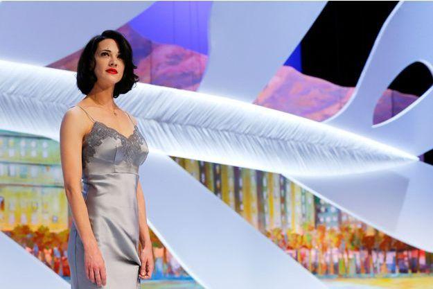 Asia Argento lors du dernier Festival de Cannes