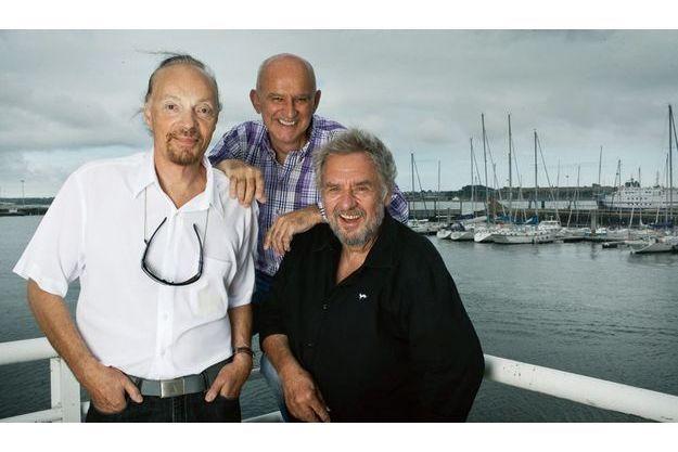 Alan Stivell, Dan Ar Braz et Gilles Servat